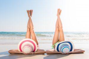 Cuidar el cuerpo en la playa
