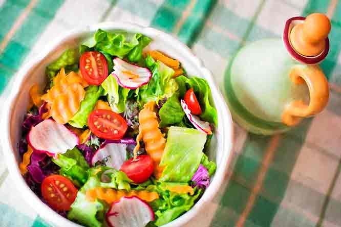 Dieta de verano saludable