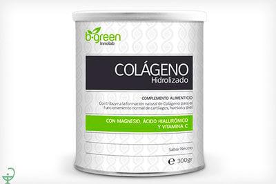 Complejo multivitamínico colágeno hidrolizado lebuit b green