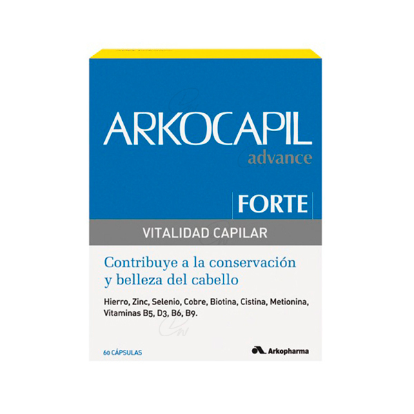 ARKOCAPIL FORTE VITALIDAD CAPILAR 60 CAPS