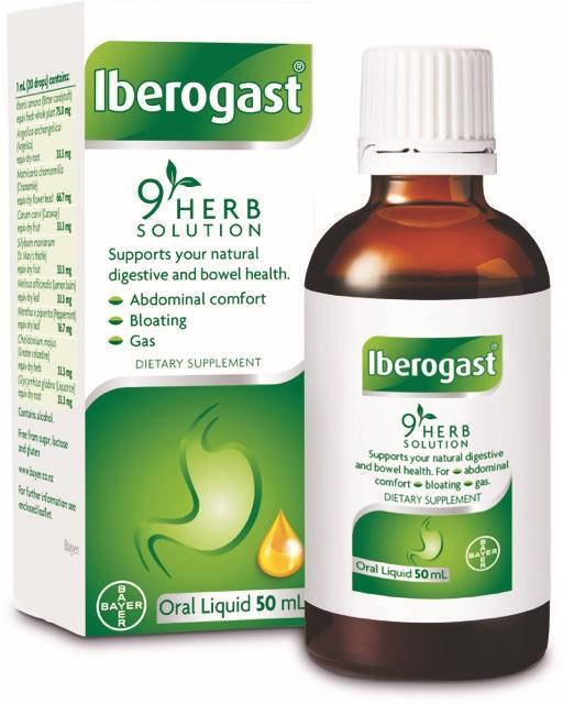 IBEROGAST GOTAS ORALES 50 ML
